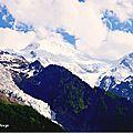 Alpes sommet de l'europe