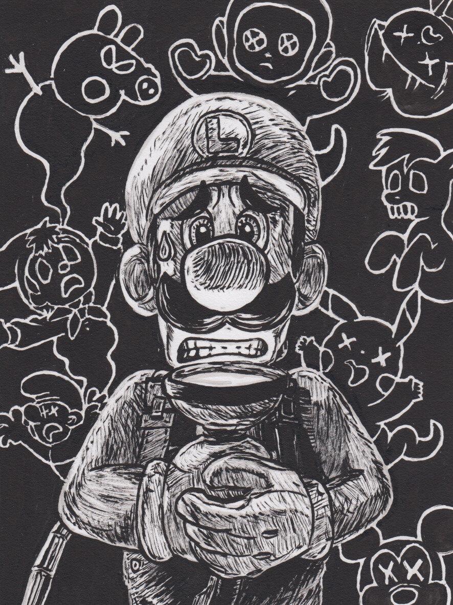 Marioctober 22 ghost