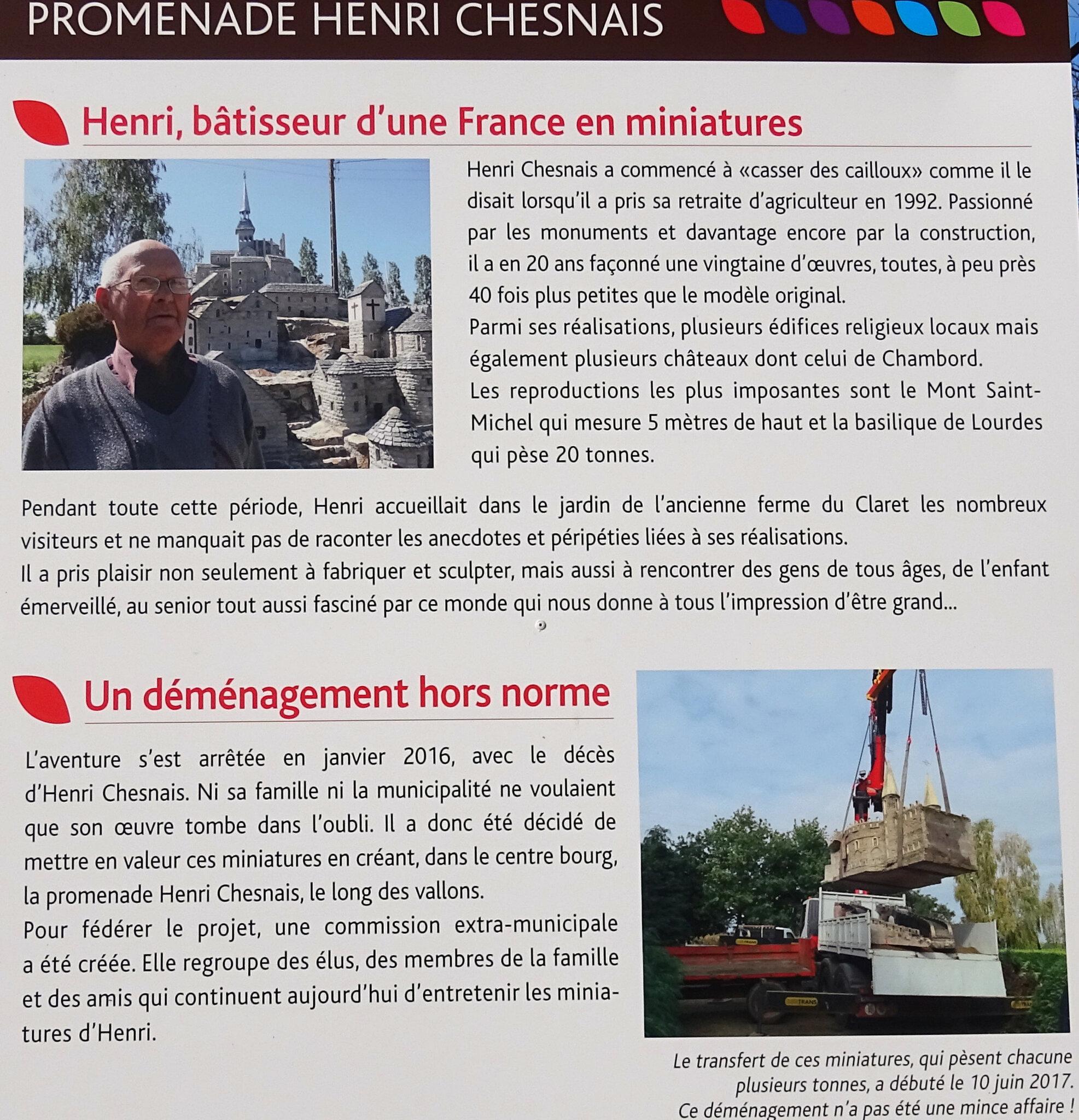 """Promenade """"Henri Chesnais"""" à Domagné le 22 01 2019"""