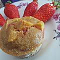 Gâteaux pommes-fraises