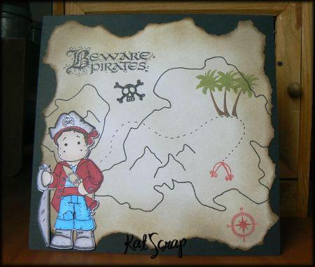 Carte pirate anniversaire de Milhane #2