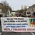 73 z - manifestation des fonctionnaires Amiens