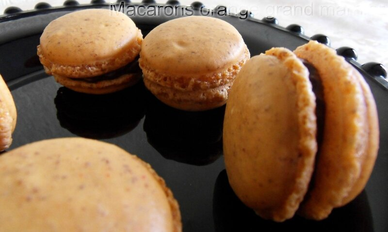 macarons orange grand marnier1
