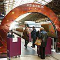 Une exposition-vente de chocolat dans un train !