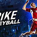 Test de spike volleyball - jeu video giga france