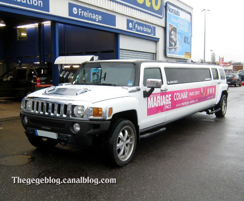 Hummer H3 limousine (Geispolsheim) 01