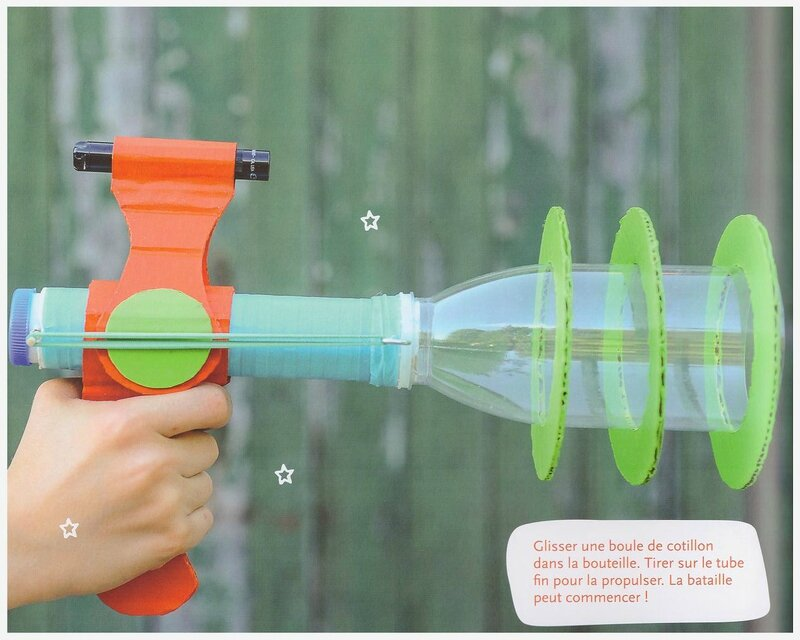 pistollet bricolage enfant