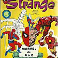 Strange – journal de spider man - marvel