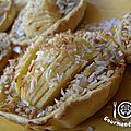 tartelettes pommes / coco