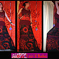 robe bordeaux tribal noir3