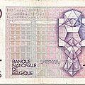 1978 100francs verso de Hendrick Beyaert Dessin Géométrique