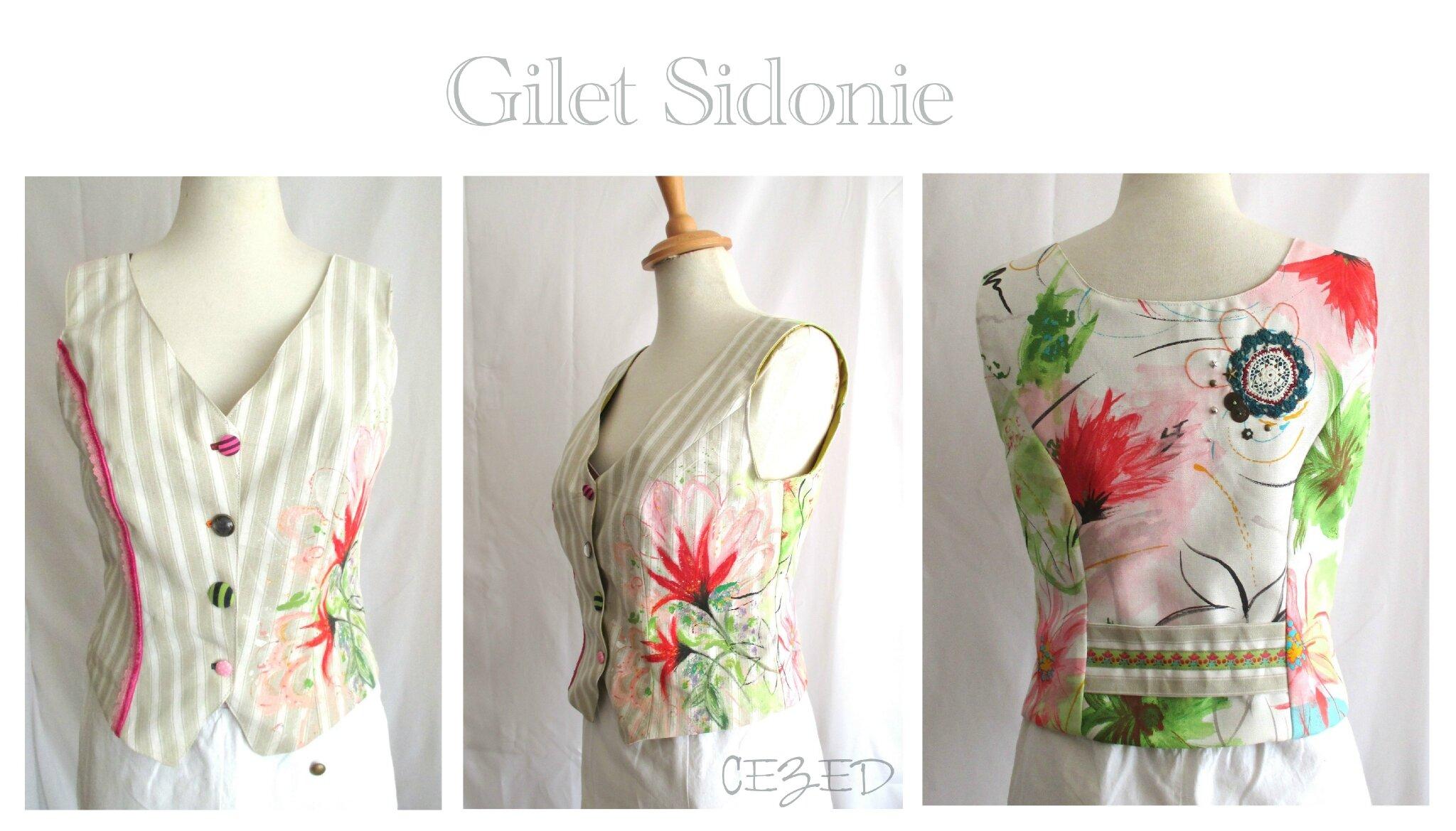 GILET Sidonie