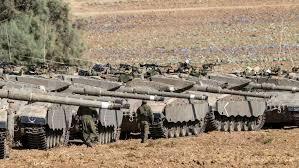 Palestine occupée: Des tanks aperçus au Nord de la bande de Gaza ce matin