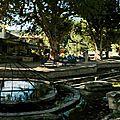 Café de la fontaine à saint bonnet du gard (30)