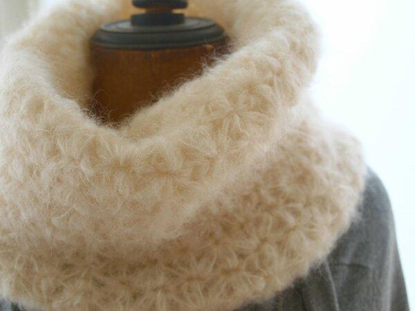 snood crochet chantal sabatier