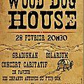 Evénement facebook pour le concert wood dog house du 28 février