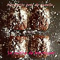Gâteaux pot de nutella au pralin