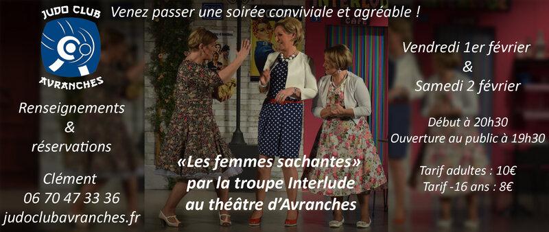 théâtre_les femmes sachantes_Avranches_février_2019_Interlude