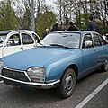 Citroën gs 1220 club convertisseur