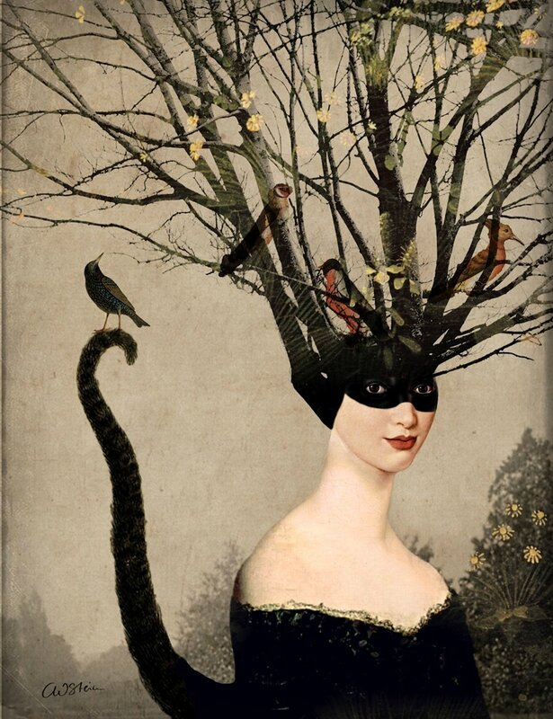 Catrin Welz-Stein - German Surrealist Graphic Designer - Tutt'Art@ (62)