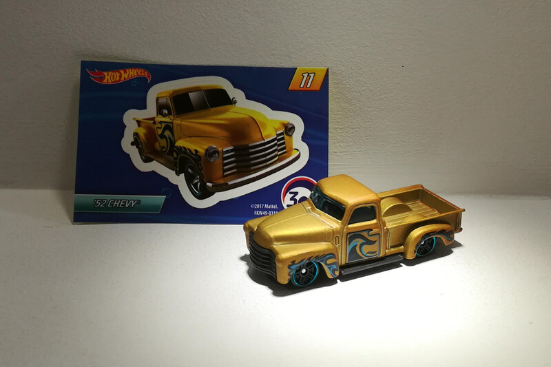 Chevrolet Chevy pick-up de 1952 (Hotwheels)