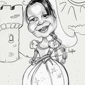 Caricature princesse