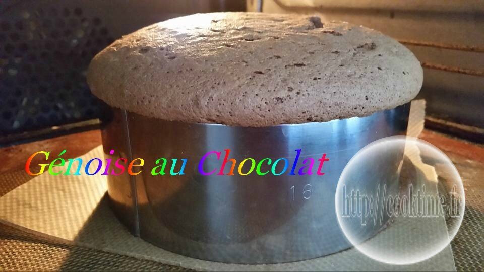 genoise chocolat au thermomix 2