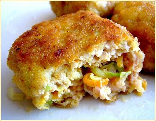 nuggets aux légumes