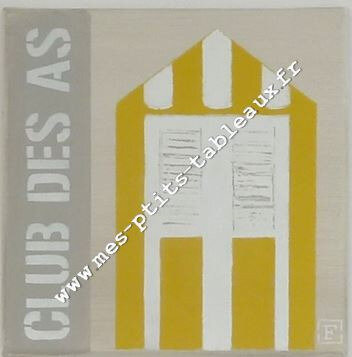 Cabine club des As Coloris jaune