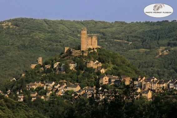 NAJAC_la_forteresse_royale_XIIe_et_XIIIe_siecles_dominant_le_village_face_est