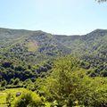 Le col de Boesou depuis les bordes.