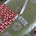 Le sac de la maîtresse ... ou le cadeau fait main à offrir à la fin de l'année scolaire