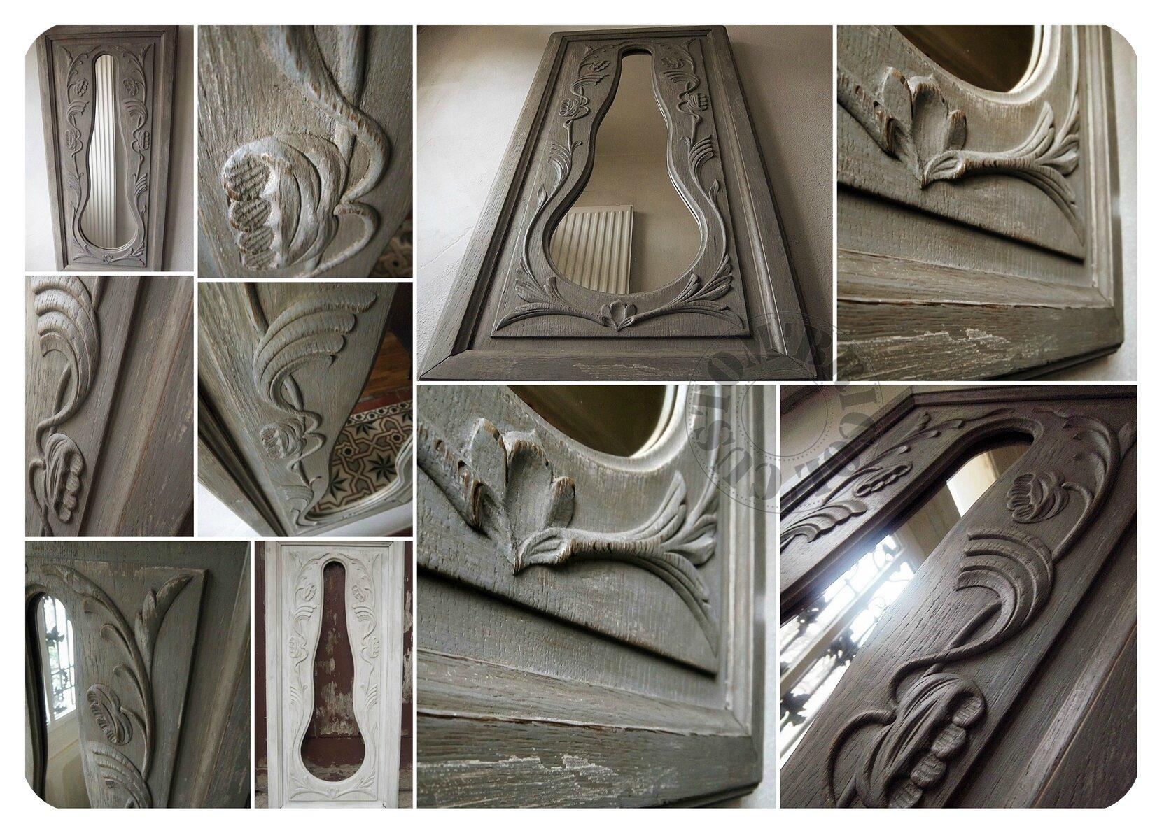 Miroir facade comtoise- montage
