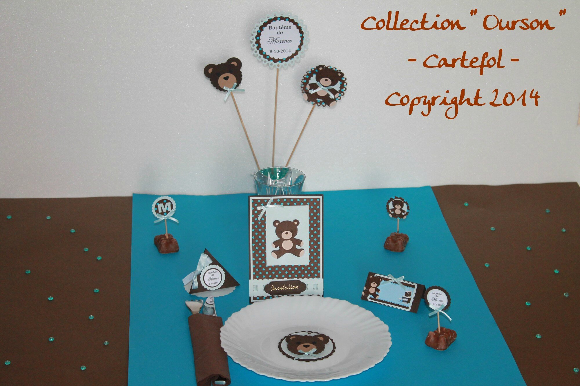 Collection Ourson Cartefol