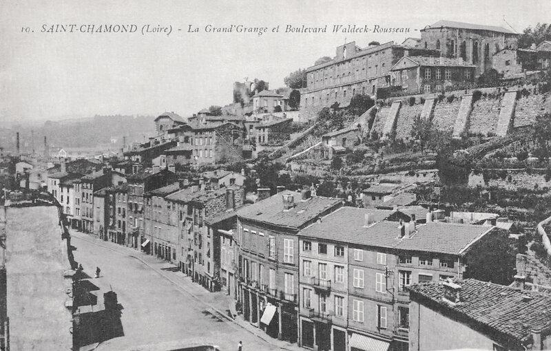 bd Waldeck-Rousseau et Grand'Grange, cpa