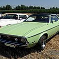 Ford mustang grandé hardtop coupe 1971-1972