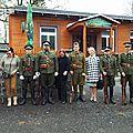 Accueil à la cérémonie d'hommage aux prisonniers de guerre morts dans la région de Jésénik