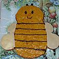 Cette abeille n'est pas une courge ! foodista challenge #45