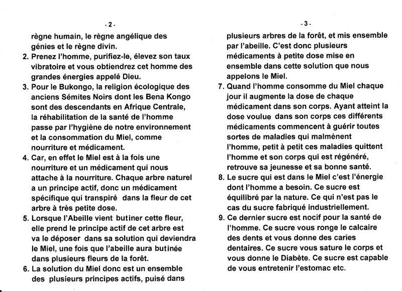 LE GRAND MAITRE MUANDA NSEMI PARLE DE LA REHABILITATION DE LA SANTE SUR LA PLANETE TERRE b