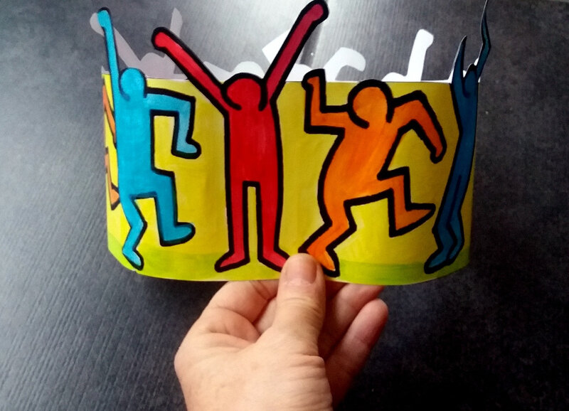 343-Couronnes-Couronne Keith Haring (30)