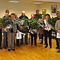 Remise des récompenses aux lauréats du concours communal des maisons fleuries 2013