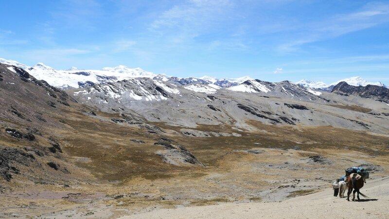 Col du Condor, 5200m