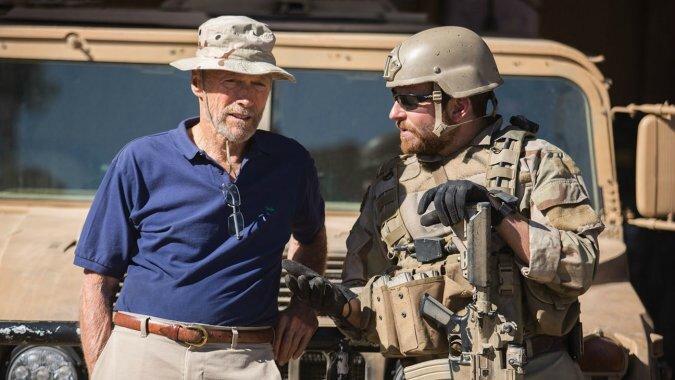 american sniper Eastwood & Cooper