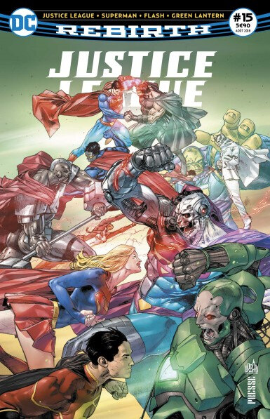 justice league rebirth 15