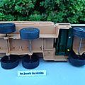 Berliet militaire gbc8 kt beige marque feral