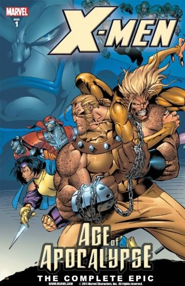 age of apocalypse the complete epic book 1 TP