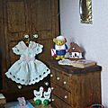 Case créole : chambre d'enfant