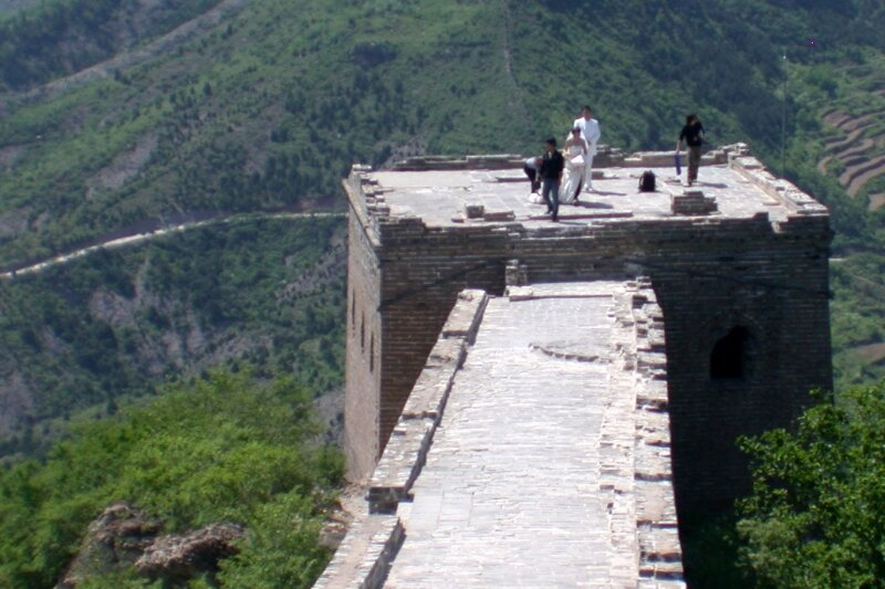 Chine - Simatai, la grande muraille de Chine