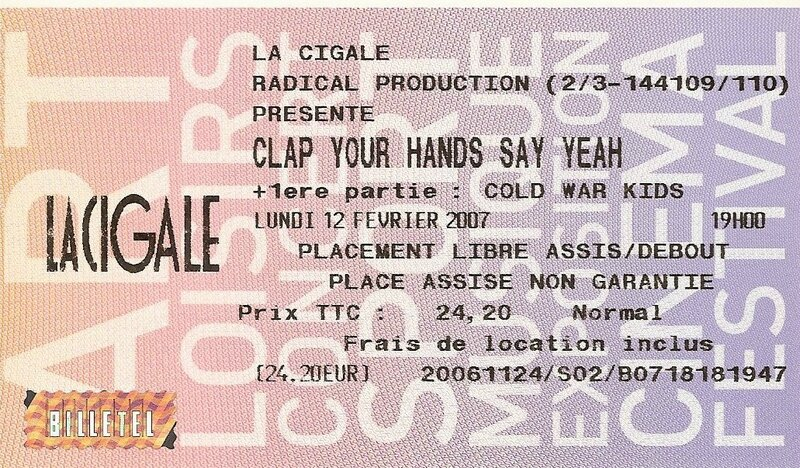 2007 02 Clap Your Hands Say Yeah Billet