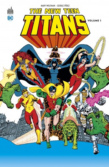 Urban DC The new Teen Titans